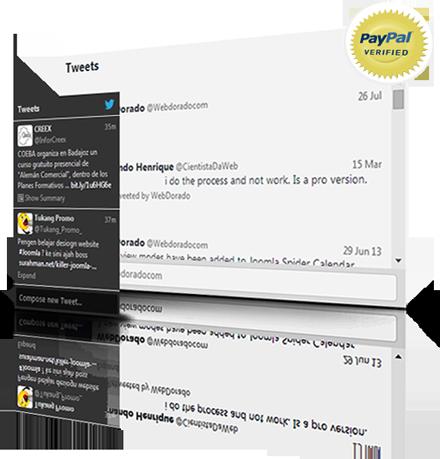 Joomla Twitter Integration Module