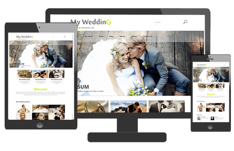 Tema de Boda de WordPress | Wedding Theme