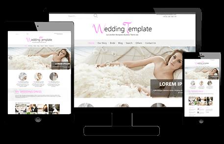 Tema de Estilo de Boda de WordPress | Wedding Style