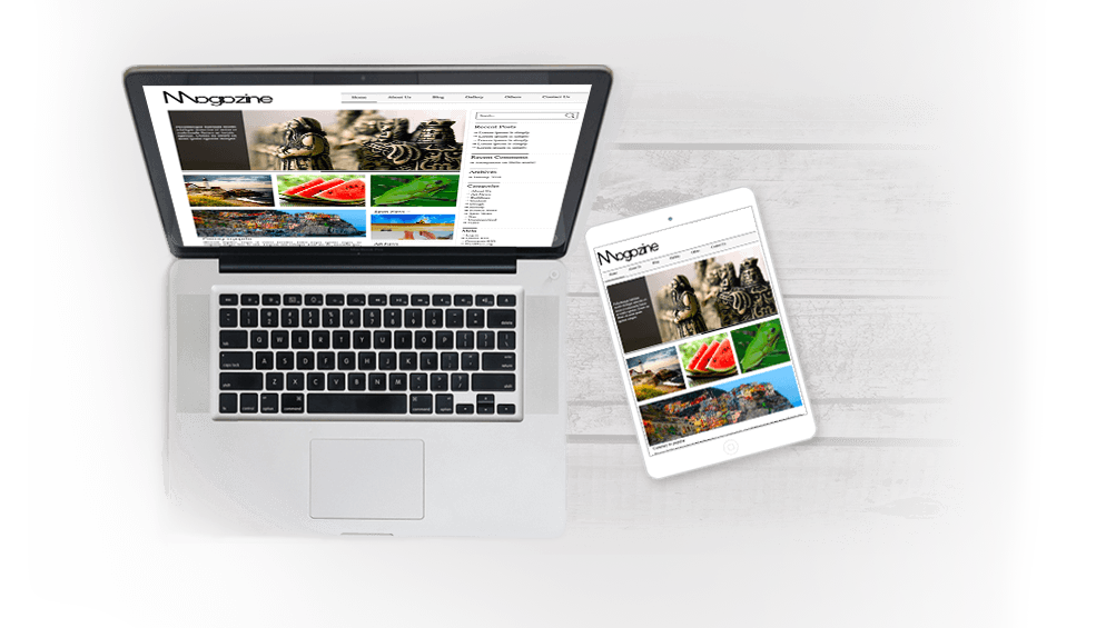 WordPress MottoMag Theme