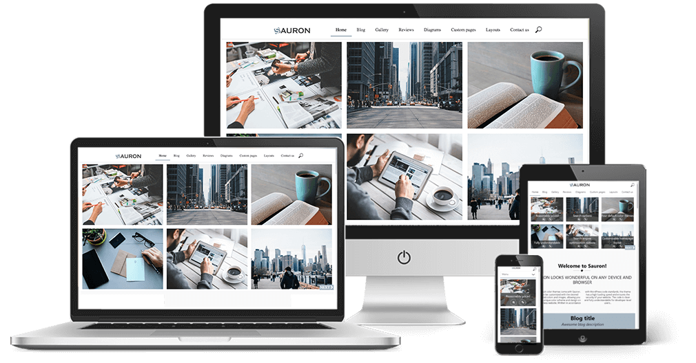 Sauron Multifunctionele WordPress Theme