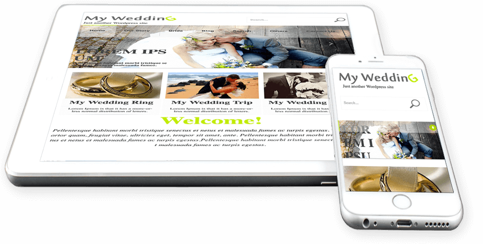 WordPress Weddings Theme