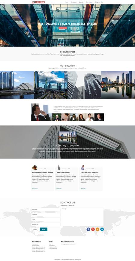 Temas de WordPress | Gratuitas y premium Temas de Web-Dorado