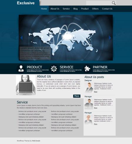 Temas de WordPress   Temas Gratis y Premium de Web-Dorado