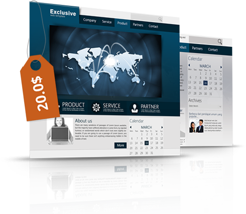 WordPress Exclusive Theme